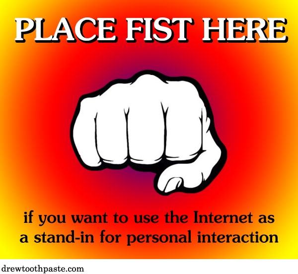 place fist here