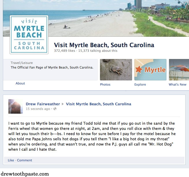 Want To Go To Myrtle